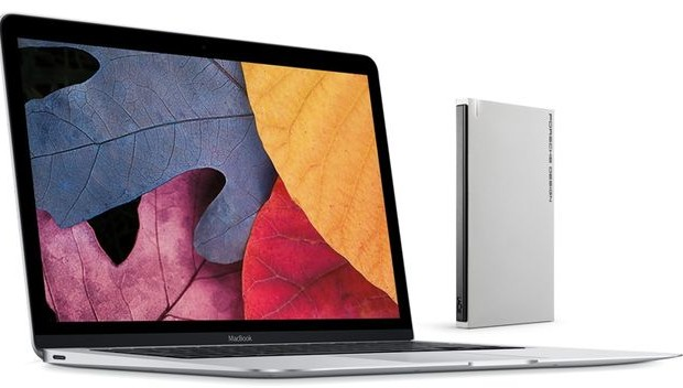 LaCie has introduced external drives Porsche Design for the new MacBook