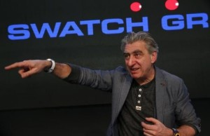 Swatch is developing a long-lasting batteries for portable devices