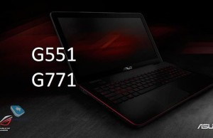 Presentation of new notebook and desktop PCs Asus ROG