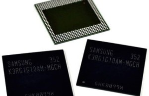 Samsung starts mass production of memory chips for mobile devices LPDDR4