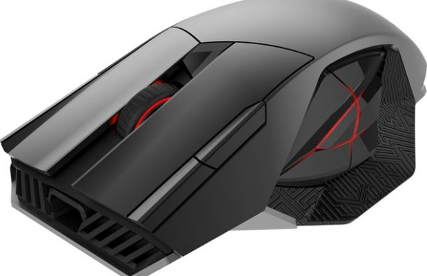 CES 2015: prototype flagship mouse ASUS ROG Spatha
