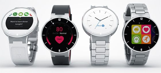 Review of smart watches Alcatel OneTouch Watch