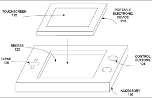 Apple has patented the game controller holder for Smartphones
