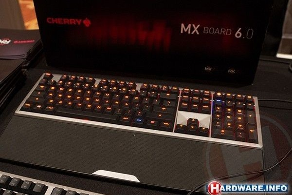 CES 2015: Cherry introduced mechanical keyboard MX Board 6.0