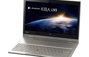 """Toshiba introduced the updated 13.3 """"Ultrabooks Dynabook KIRA"""