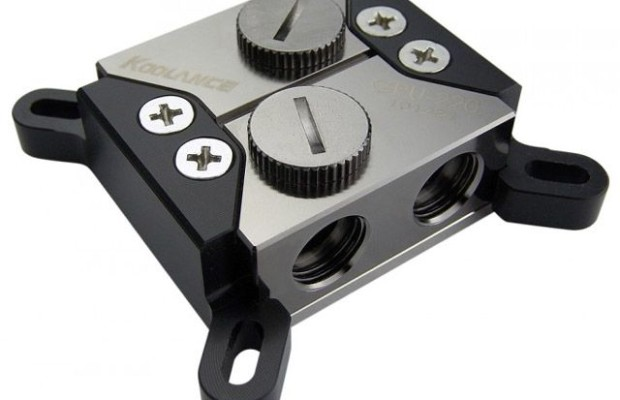 Koolance offers universal water block GPU-220 Rev.2