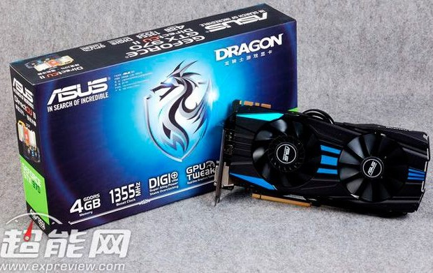 Asus will release the GeForce GTX 970 Dragon Knight