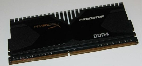 Kingston showed DDR4-memory HyperX Predator and Fury