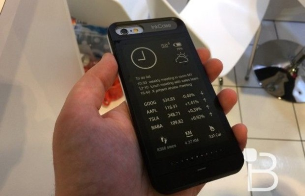 Case InkCase turn the iPhone and iPhone 6 and 6 Plus is a similarity YotaPhone