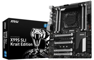 MSI introduces X99S Krait Edition SLI motherboard