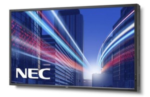 NEC has released a monitor MultiSync LCD-X474HB with brightness 2000 cd per square meter