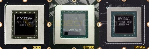 NVIDIA GM200: the first photo of the chip card and hit the net