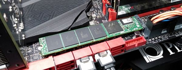 CES 2015: Plextor SSD M7e with increased performance