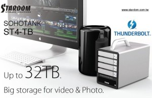 RAIDON Thunderbolt2 ST4-TB: 20-Gbit / s external storage
