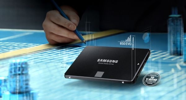 Review SSD Samsung 850 EVO-based 3D NAND: fast, durable, mass