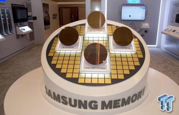 CES 2015: Samsung showed the latest chips TLC 3D V-NAND