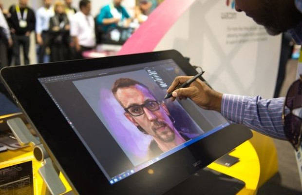 "CES 2015: 27"" monitor and graphics tablet from Wacom"
