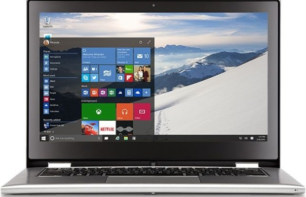 Laptop manufacturers is not inspired by Windows 10
