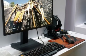 CES 2015: ASUS showed WQHD IPS monitor MG279Q with a refresh rate of frames 120/144 Hz