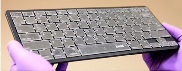 "Prototype keyboard, learn master by ""handwriting"""