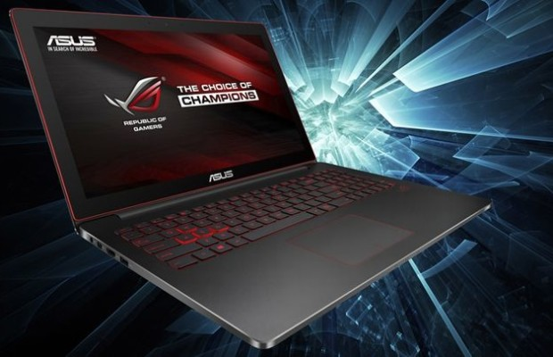 ASUS G501: thin and light gaming notebook with 4K-display