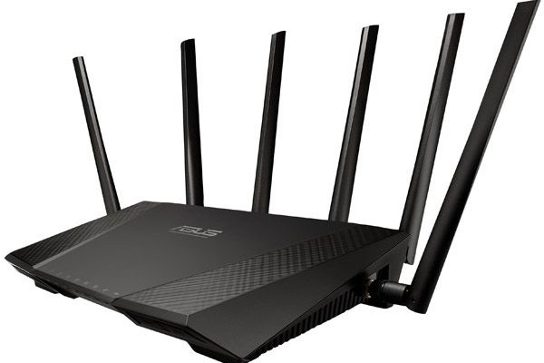 ASUS RT-AC3200 tri-band router provides 3200 Mbit / s