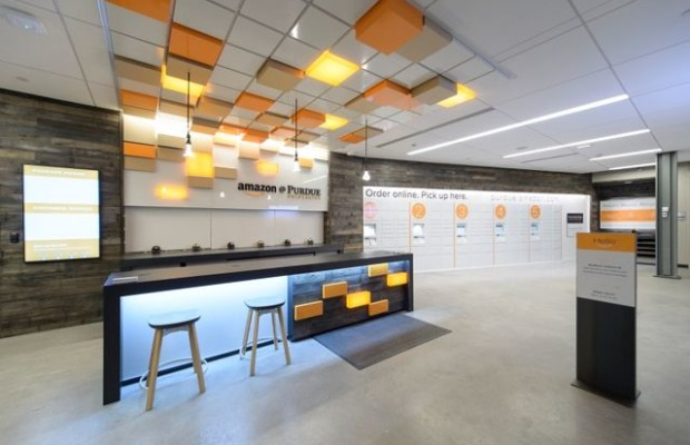 Amazon opened its first retail store on campus