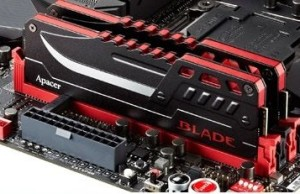 Apacer released flagship DDR4-memory BLADE