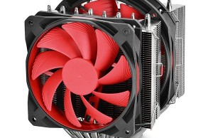 "Represented CPU Cooler Deepcool Assassin II with a ""rubber fans"""