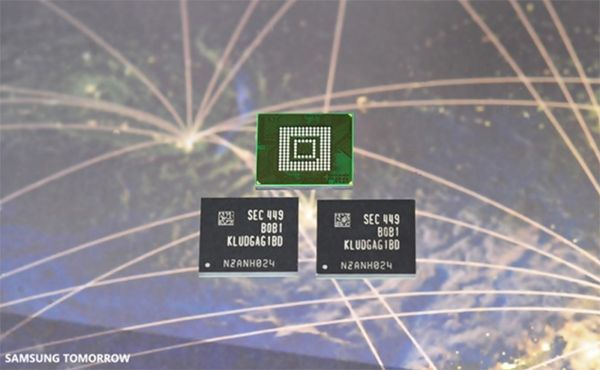 Memories Universal Flash Storage 2.0 also by Samsung
