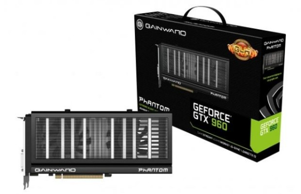 Review Gainward GeForce GTX 960 Phantom GLH and testing 2-way SLI GeForce GTX 960