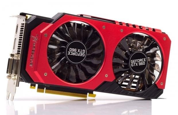 Review GeForce GTX 960 Super JetStream (rapid test)
