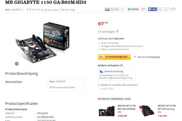 Gigabyte revisions: no official response, but new developments