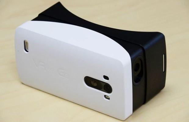 LG released the plastic version of the cardboard helmet Google VR for G3