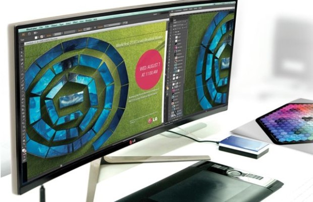 LG 29UC97: curved monitor with an aspect ratio of 21: 9