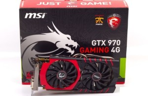 Review card MSI GeForce GTX 970 GAMING 4G (rapid test)