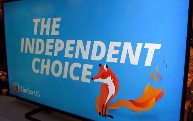 Panasonic presented its first TV running Firefox OS