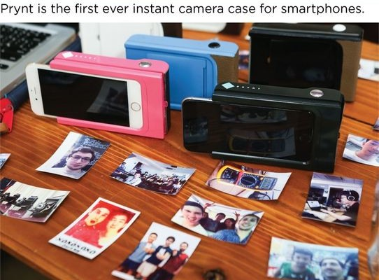 Startup Prynt: Case-printer for instant photo printing from your smartphone
