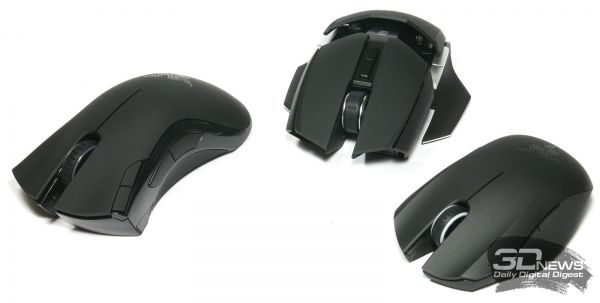 Review of wireless mice Razer Orochi, Mamba and Ouroboros: in all cases the game of life