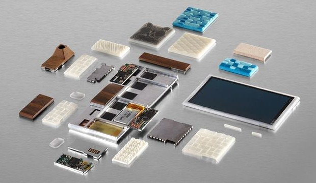 At MWC 2015 brought the first components for modular smartphone Ara