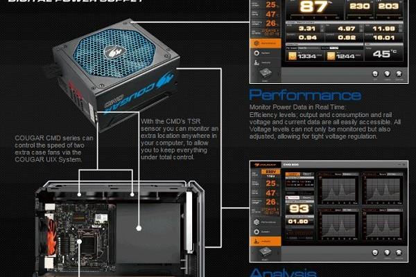 Cougar announced its first digital PSU 80Plus Bronze Class
