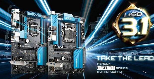 CeBIT 2015: ASRock motherboards with support for USB 3.1