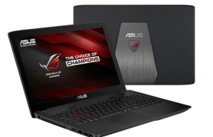 Gaming laptop ASUS ROG GL552 is equipped with a Core i7 chip and accelerator GTX 950M