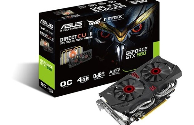 ASUS Strix GTX 960 4GB: accelerator modes Gaming Mode and OC Mode