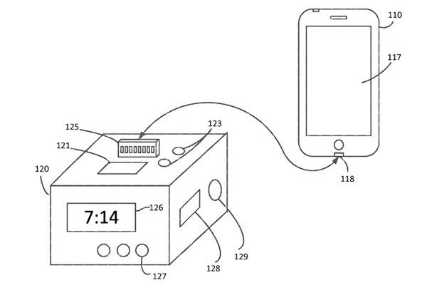 Apple thinks of a dock advanced iPhone and Apple Watch
