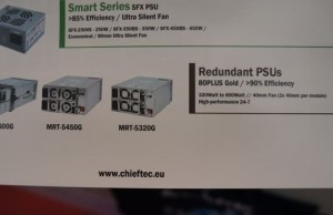 CeBIT 2015: Power supply units Chieftec