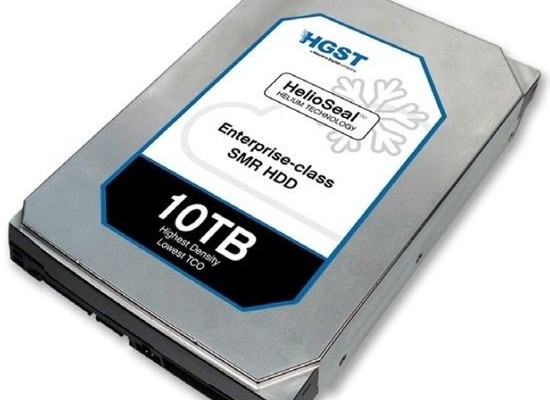 HGST demonstrated a 10-terabyte HDD and SSD with NVM Express