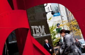 IBM reduced its staff by 12%