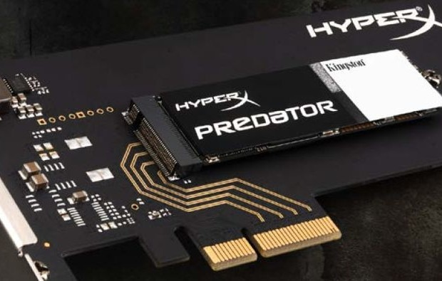 SSD-drives Kingston HyperX Predator PCIe went on sale for as low as € 290