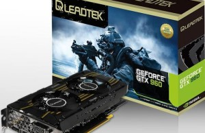 Leadtek released graphics card WinFast GTX 960 Hurricane